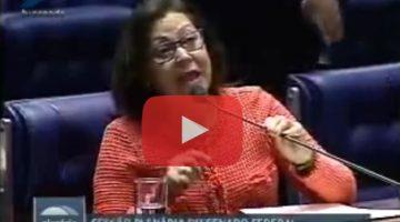 Lídice cobra rapidez na votação de legislação que trata do tráfico humano