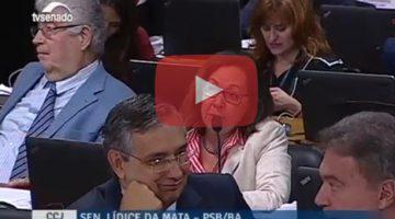 Senadora Lídice da Mata defende reajuste salarial para defensores