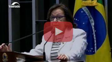Lídice declara voto contrário à pronúncia de impedimento de Dilma
