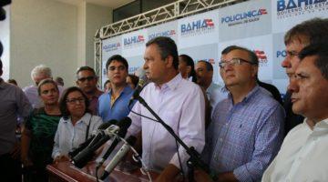 Lídice da Mata destaca inauguração de policlínica em município no interior da Bahia