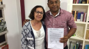Vereador agradece poços artesianos garantidos com emendas da senadora Lídice