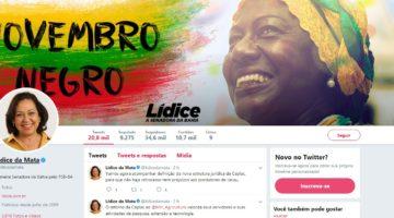 Lídice da Mata é a senadora baiana mais influente no Twitter
