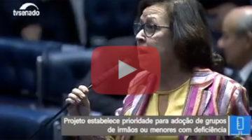Lídice ressalta aprovação de lei que facilita adoção no Brasil