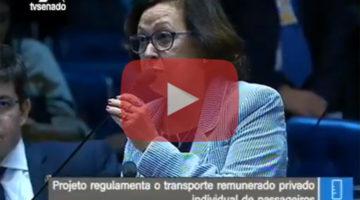 Lídice encaminha votação para aperfeiçoar projeto que regulamenta transporte de passageiros