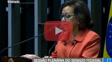Lídice critica projeto de privatização do Governo Temer