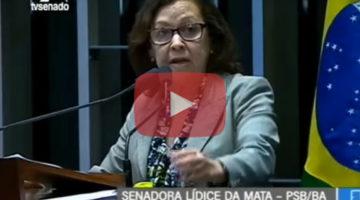 Lídice comenta inauguração de políclínica em Guanambi e combate ao câncer