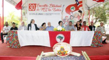 Lídice participa do 30º Encontro Estadual do MST
