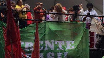 Senadora Lídice da Mata acompanha julgamento do ex-presidente Lula em Porto Alegre