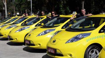 Projeto incentiva compra de carro elétrico por taxista e pessoa com deficiência