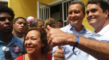 Lídice acompanha governador na entrega de obra em Boa Vista de São Caetano
