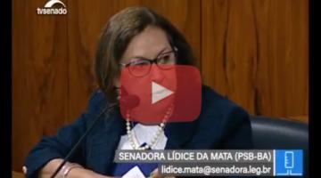 Lídice destaca papel das constituintes: temas das mulheres pertencem a toda a sociedade