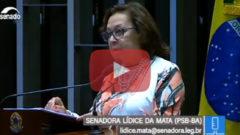 Lídice comenta Dia Nacional de Combate à Exploração Sexual de Crianças e Adolescentes