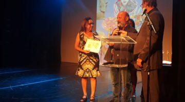 Lídice recebe Prêmio Condessa Anna Rosa Lugiato