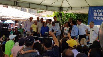 Lídice participa de agenda do governador em Casa Nova