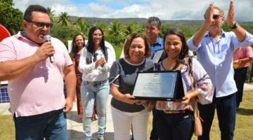 Lídice ganha título de cidadã de Andaraí