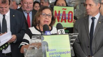 """""""Reforma da Previdência será uma tragédia para as mulheres"""", afirma Lídice"""