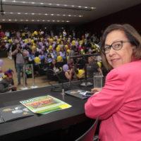 Mulheres unidas contra a reforma da Previdência lotam auditório Nereu Ramos