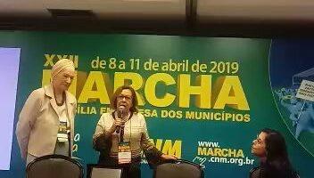 Lídice da Mata é homenageada pelo Movimento de Mulheres Municipalistas