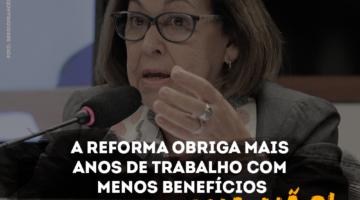Lídice destaca atuação do PSB ao garantir mesmo tempo de contribuição para homens e mulheres na aposentadoria por idade