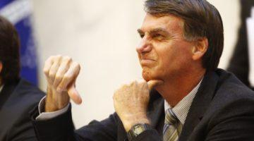 Artigo: Não é por acaso a má avaliação de Bolsonaro