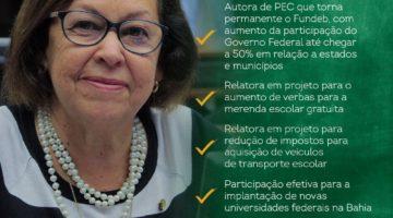 """""""É preciso sepultar o Escola sem Partido e fortalecer o Fundeb"""", afirma Lídice"""