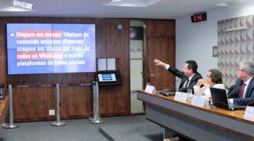 Estudos sobre disseminação de notícias falsas são apresentados em CPMI