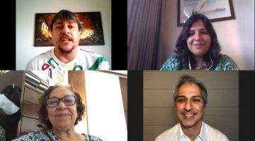 Lídice da Mata e Alessandro Molon debatem o problema das fake news no cenário político brasileiro