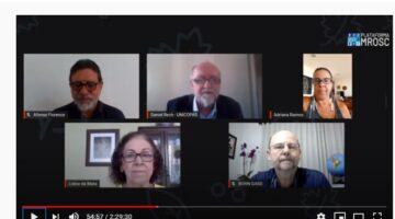 Lídice participa de ato em defesa das organizações da sociedade civil organizada