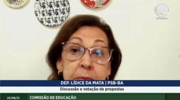 Lídice defende inclusão nas escolas e critica declarações do ministro da Educação