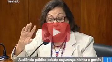 Lídice fala sobre crise hídrica e privatização da CHESF em audiência pública