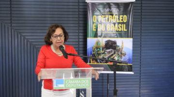 Lídice da Mata critica privatizações e defende Eletrobras e Petrobras