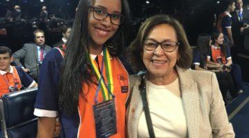 Lídice da Mata saúda jovem senadores e destaca participação de mulheres