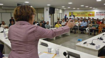 """Lídice em Itabuna: """"Bolsonaro enganou a Nação"""""""