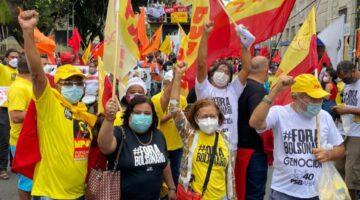 """""""Bolsonaro ressuscitou os fantasmas da fome, inflação e desemprego"""", afirma Lídice em manifestação"""